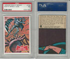 1966 Topps, Batman A Series, #18A Death Spins A Web, PSA 7 NM
