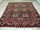 10X7 1940's GORGEOUS AUTHENTIC ANTQ 70+YRS PERSIAN WOOL BAKHTIARII ORIENTAL RUG