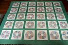 FABULOUS Vintage 3os Dresden Plate QUILT Beautiful Prints Expertly Quilted