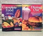 Weight Watchers Dining Out Complete Food Companion Book 2001 Winning Points