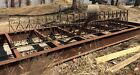 Architectural Salvage Wrought Iron Fence, RARE 390ft (20x19.5'), sold by section