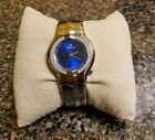 Tag Heuer Alter Ego Stainless Steel Diamond Blue Face Ladies Watch