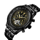 MG.ORKINA Bezel Case Calendar date day Auto-mechanical Stainless steel Men Watch