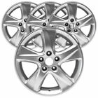 17 Silver Rim by JTE for 2009 2010 Acura TSX 17x75 Set of 4