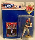 1995 Starting Lineup Will Clark Texas Rangers action figure Kenner MLB card