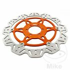 EBC Front Brake Disc Vee Rotor Orange Moto Guzzi V11 1100 ie Sport Cafe 2004
