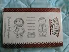 The Greeting Farm Grammie  Gramps RETIRED Rubber Stamp HTF