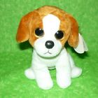 Ty Beanie Baby Banjo - Plush Beagle Puppy Dog with TAGS