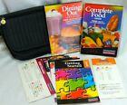 Weight Watchers Winning Points Member Kit w Books Sliders Case Weekly Recipes
