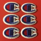 Lot 6 Sport Logo 3 4 Iron On Patch Champion Sports Clothing Gear BEST PRICE