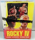 1985 Topps Rocky IV Trading Cards Unopened Wax Box 36 Sealed Packs