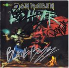 IRON MAIDEN Ed Hunter, PAUL DI'ANNO Dave Murray Steve Harris +3 Autograph SIGNED