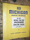 CLARK MICHIGAN MODEL 280 IIIA TRACTOR DOZER FACTORY PARTS MANUAL 3071