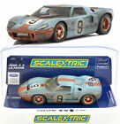 Scalextric C4104 Ford GT40 Gulf #9 Weathered Le Mans 1968 1/32 Slot Car