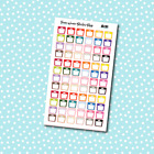 A131 Weight Scale Planner Stickers for Erin CondrenHappy Planner Payday