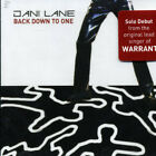 Back Down To One - Jani Lane (CD New)