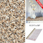 Decorative Brown Granite Look Contact Paper Countertop Vinyl Self Adhesive Film