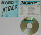 The Edge, Inxs, Robin Trower, X, Great White - Hard Attack V.1 (06/87) Promo CD