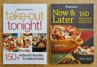 2 Weight Watchers Cook Books Take Out Tonight Now  Later 330 Recipes VGC