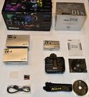 NIKON D1X DSLR BODY Very Low Actuations complete w/ original boxes + attachments