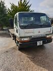 mitsubishi canter 75ton diesel beavertail truck spares or repair
