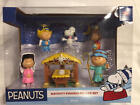 Peanuts Christmas Nativity Figure Deluxe Set Snoopy Charlie Brown 2018 Just Play