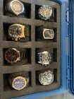 Mixed Lot High End Men's Luxury Time pieces, Fossil, Marc Ecko, Invicta, Storm