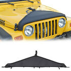 Front Hood Bra Protector Cover T Style For Jeep Wrangler TJ 1997 06 1Pcs Black