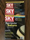 Sky And Telescope Magazines 3 Issues 1994 1998 2007