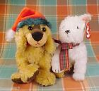 LOT OF TWO (2) TY BEANIE BABIES CHRISTMAS HOLIDAY DOGS, KIRBY & JINGLEPUP, NWT