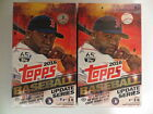 2016 TOPPS BASEBALL UPDATE SERIES FACTORY SEALED HOBBY 2 BOX LOT