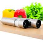 Electric Stainless Steel Pepper Grinder Salt Mill Battery Operated up to date