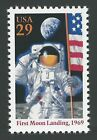 Apollo 11 25th 50th Anniversary First Man on Moon Neil Armstrong US Space Stamp