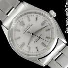 1954 ROLEX OYSTER PERPETUAL Classic Vintage Mens SS Watch, Ref. 6564 - Warranty