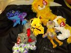*SET OF 7* Beanie Babies