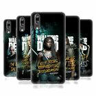 OFFICIAL AMC THE WALKING DEAD SEASON 9 QUOTES SOFT GEL CASE FOR HUAWEI PHONES