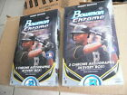 2014 Bowman Chrome Hobby Baseball 2 box lot - Clean, factory sealed boxes