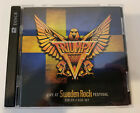 Triumph Live at Sweden Rock Festival DVD-CD 2 Disc Set
