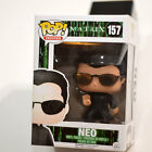 Funko POP Movies: The Matrix Neo Action Figure NEW Stained Box Top 157 Vaulted