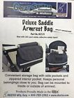 Diestco Deluxe Armrest Saddle Bag for Mobility Scooters  Wheelchairs B2121 NEW