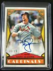2018 Topps Brooklyn Collection MARK McGWIRE on card AUTO #10 25 Cardinals