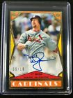 2018 Topps Brooklyn Collection MARK McGWIRE on card AUTO BLACK #05 10 Cardinals