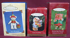 (3) Hallmark Bear Ornaments, 99 Sweet Friendship, 01 Sugar Bell, 02 Gift Bearers