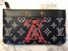 Authentic NEW Louis Vuitton Upside Down Apollo Pochette PM Clutch by KIM JONES