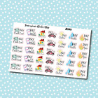 A105 Bill Pay Monthly Reminder Planner Stickers for Erin CondrenHappy Planner