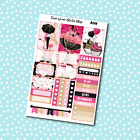 A118 Paris Love Weekly Kit Planner Stickers for Erin CondrenHappy Planner