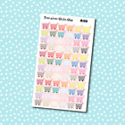 A130 Shopping Carts Planner Stickers for Erin CondrenHappy Planner Payday