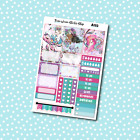 A132 Mermaid Weekly Kit Planner Stickers for Erin CondrenHappy Planner Payday