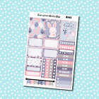 A142 Easter Bunny Weekly Kit Planner Stickers for Erin CondrenHappy Planner