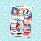 A146 Nautical Weekly Kit Planner Stickers for Erin CondrenHappy Planner